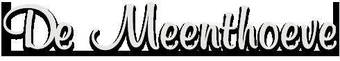 Dierenpension De Meenthoeve Logo